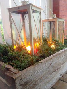 talvi iltoihin Magical Christmas, Outdoor Christmas, Winter Christmas, Xmas, Christmas Inspiration, Garden Inspiration, Outdoor Living, Outdoor Decor, Terrace Garden