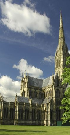Salisbury cathedral- Salisbury Cathedral, formally known as the Cathedral Church of the Blessed Virgin Mary, is an Anglican cathedral in Salisbury, England, and is considered one of the leading examples of Early English architecture