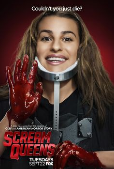 "Lea Michele | Hester aka ""Neckbrace""  Scream Queens premieres Tuesday, Sept. 22 on FOX!  Check out the latest buzz on http://www.fox.com/scream-queens"