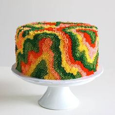 🍍🍍🍍, sosuperawesome: Cake Art by Alana Jones-Mann on. Wedding Sweets, Unique Wedding Cakes, Champagne Birthday, Rum Cake, Incredible Edibles, Colorful Cakes, Cake Decorating Techniques, Buttercream Cake, Pretty Cakes