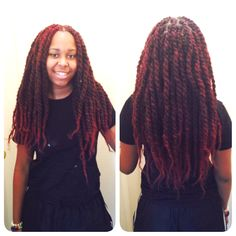 Red Marleys Did These Marley Twists On A Client Servicing The Dmv Area
