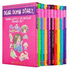 Dear Dumb Diary by Jim Benton  Another great series!! I want them ALL!