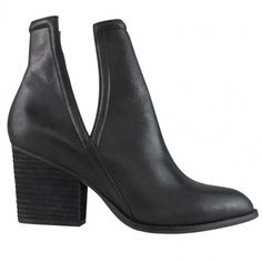 All about the ankle! Gabrie has a block heel perfect for day wear, and matte black nappa leather upper ideal for an edgey night out. This geometrically cut ankle boot is perfect for all occasions, with a cut out on the ankle to keep things cool! Walk In My Shoes, Me Too Shoes, Leather Sneakers, Leather Boots, Buy Shoes Online, Gorgeous Feet, Black Ankle Boots, Shoe Boots, Heels