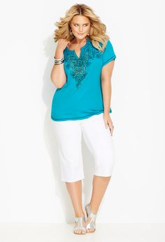 Heavenly Henleys | Plus Size Outfits | Avenue