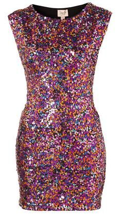 Ultimate party dress! Im usually not big into sparkles but this is so fun!!