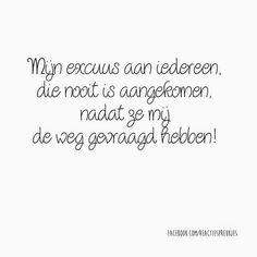 Excuus...