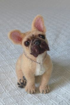 Custom Pet Portrait / Needle Felted Dog / by by GourmetFelted, $250.00