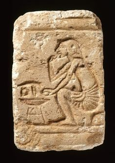 Egyptian relief with a man eating fruit, from El-Amarna | 1353-1335 BC, 18th Dynasty, New Kingdom. © The Fitzwilliam Museum, Cambridge, UK.