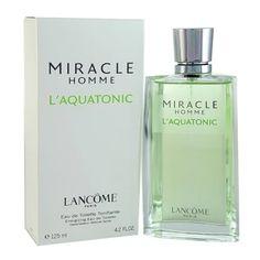 รีบเป็นเจ้าของ  Lancome Miracle Homme L'Aquatonic EDT 125 ml.  ราคาเพียง  3,799 บาท  เท่านั้น คุณสมบัติ มีดังนี้ เปิดตัวครั้งแรกในปี 2003 ปรุงแต่งกลิ่นโดย Francis Kurkdjian Eau De Toilette 125 ml.