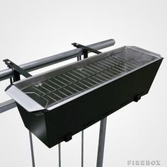 urban grilling balcony bbq with small footprint thumb Transportable Balcony BBQ Is Scorching For Urban Grilling stunning ideas photo Small Balcony Design, Terrace Design, Patio Design, Camping Grill, Mini Barbecue, Barbecue Original, Outdoor Balcony, Outdoor Decor, Balcony Ideas