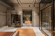 neri and hu comme moi flagship store retail interiors shanghai china designboom