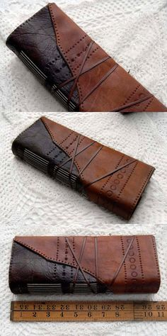 The Explorer Large Rustic Brown Leather Journal by bibliographica, $165.00