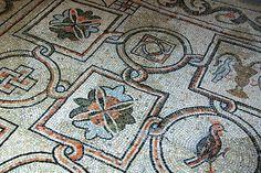 #Byzantine mosaic floor - Ravenna - San Vitale (548 A.D)