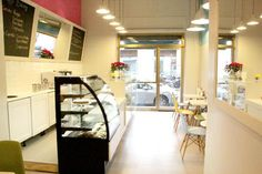 Vintage Bakery Milan - Italy  new american style bakery in the heart of Isola District, to discover the pleasureof the cupcakes and muffins in a 50s style shop  http://www.vintagebakery.it