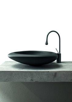Sasso Cemak by Mastella Design | Wash basins