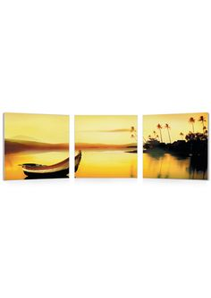 COPIART Peaceful Escape Triptych