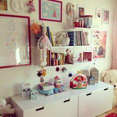 Princess room / barnrum / string shelf - kidsdesignlife DESIGN + LIFE + KIDS