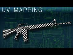M16A1 Maya UV Mapping Tutorial - YouTube