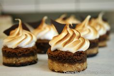 S'mores Petit Fours: Baking My Way Through Germany