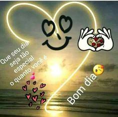 Bom Dia! 😘❤ Portuguese Quotes, Second Wedding Anniversary, Organic Sugar, Good Morning Images, Types Of Food, Emoticon, Believe In You, Neon Signs, My Love