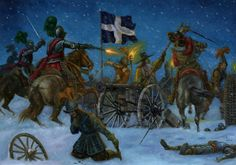 Imaging Battles: Night attack of cuirassiers and dragoons of General Werth. The Battle of Tuttlingen in Military Art, Military History, Military Tactics, Thirty Years' War, Early Modern Period, Renaissance Era, European History, Modern Warfare, Religion