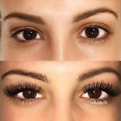 drab to fab! love eyelash extensions