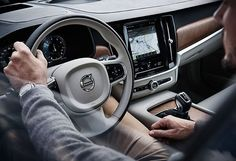 Volvo – World-class safety – steering wheel - Best Luxury Cars Volvo S90, Cars Usa, Volvo Cars, Bmw Series, Chip Foose, Pontiac Gto, Car Wheels, Ford Gt, Car Photography