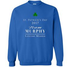 8f06eed0114 St Patrick s Day 2017 Team Murphy Family T-shirt