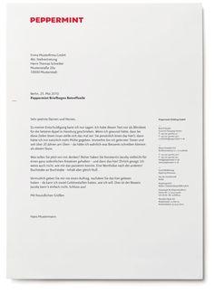 Peppermint / Stan Hema, Agentur für Markenentwicklung – Berlin