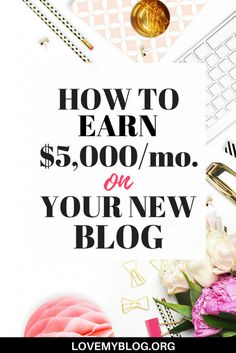 Have you been blogging for a little while and not happy with your earnings? Wondering what the secret sauce is that has some bloggers making thousands per month while you're earning peanuts? You're going to learn how Ashli from The Million Dollar Mama earns $5K per month on her brand new blog! She shares the real deal and tells it all so you can replicate her strategy and start earning too! Intrigued? lovemyblog.org