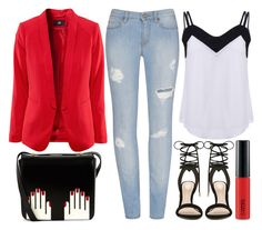 """street style"" by sisaez ❤ liked on Polyvore featuring Lulu Guinness, ALDO and MAC Cosmetics"