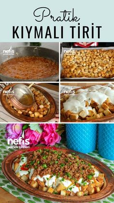 Practical Mince Pita Nur& Kitchen LOVE Exquisite Recipes- Pratik Kıymalı Pide Nur'un Mutfak AŞKı Nefis Yemek Tarifleri Practical Mince Pita Nur& Kitchen LOVE Exquisite Food … - Yummy Recipes, Lunch Recipes, Healthy Dinner Recipes, Soup Recipes, Cooking Recipes, Good Food, Yummy Food, Healthy Eating Habits, Iftar