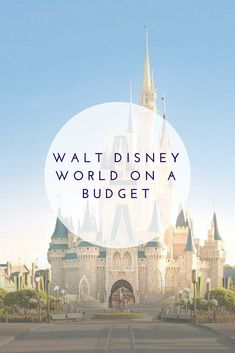 10 tips to save big at WDW