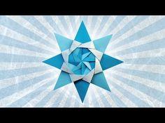 Origami: Estrella Boreale - Hogar Tv por Juan Gonzalo Angel - YouTube