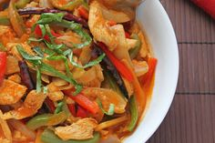 Bangkok Chicken Curry - Make your own Thai food!