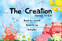 FREE app Aug 2nd (reg 1.99) Discover how God created the whole world in just 7 days! Read and learn about the God's amazing creations day by day. Plant beautiful flowers and trees, and play with creatures under the sea, on the ground, and in the sky!