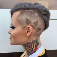 Tatuaggi capelli alla moda e disegni! Immagini e Video tutorial!