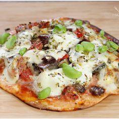 Pizza de Couve Flor sem Farinha - O melhor restaurante do mundo é a nossa Casa