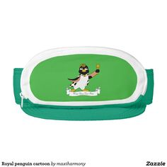 Royal penguin cartoon visor