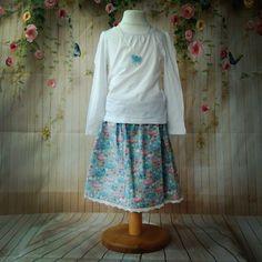 Blue ballet dress skirt