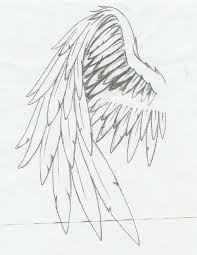 angel wing tattoo flash - Google Search