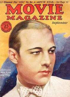 Rudolph Valentino Movie Mag No.1 (1925)