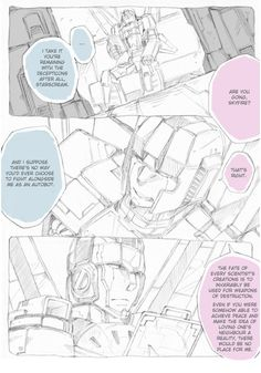 needsabouttreefiddy:  needsabouttreefiddy:  Very nice G1 Skyfire and Starscream comic. I'm not sure, but I think this may be the first serious one with these two that I've translated. As the internet would say, this one will hit you in all the feels. Unfortunately, I have no source. Also, we are missing the fourth page. (Long shot, but) if anyone happens to have it saved, please let me know! Right click and open in new tab for full size.  (Oh, the ability to reblog one's self is truly a…