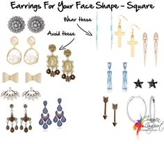 Earrings for Your Face Shape - Square | Inside Out Style