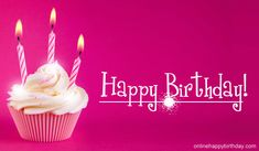 Happy Birthday Images In Pink