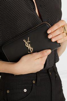 b9f6ee2cfec8 Saint Laurent - Monogramme leather continental wallet