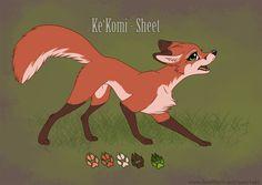 Ke'Komi - Sheet by RukiFox.deviantart.com on @DeviantArt