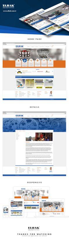 Elbak Web Design & Front-endAgency: OrBiT