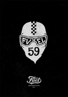 Fuel Motorcycles by bmd design Motorcycle Logo, Motorcycle Posters, Motorcycle Gifts, Design Art, Logo Design, Graphic Design, Bike Poster, Typography Love, Easy Rider