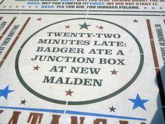Comedy Carpet, Tower Headland, Blackpool